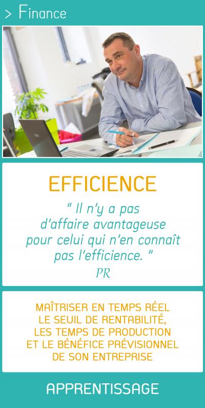 Pensons d'abord EFFICIENCE avec la Méthode FARH